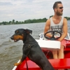 mag hond mee in de boot of sloep varen Giethoorn